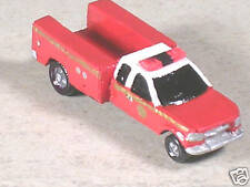 N Scale 1998 Red & White Ford Rescue Truck