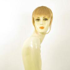 frange à clip peruk cheveux blond clair doré ref: 20 en lg26