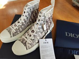 Dior B23 High-Top White and Black Oblique SIZE US 9 EU 43