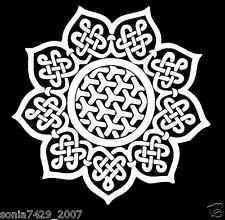 "Mandala Celtic Knot Car Vinyl Decal Sticker Truck Laptop Cute 5"""