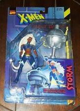 New X-MEN Robot Fighters: STORM-Spinning Weather Station w/Lightning Projectile!