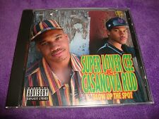 SUPER LOVER CEE & CASANOVA RUD cd BLOW UP THE SPOT free US shipping
