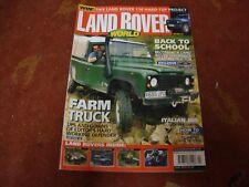 LAND ROVER WORLD MAGAZINE   April 2005