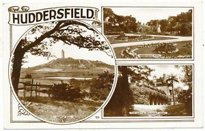 Huddersfield, 1956 multiview postcard