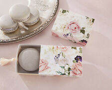 24 English Garden Floral Slide Tassel Wedding Bridal Shower Favor Boxes Q36475