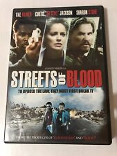 STREETS OF BLOOD Dvd 2009 Widescreen Val Kilmer 50 Cent Sharon Stone