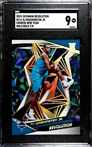 2019-20 Panini Revolution PJ Washington Chinese New Year Holo Gold 7/8 SGC 9 RC