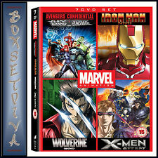 MARVEL ANIME COLLECTION - 7 DVD BOXSET  **BRAND NEW DVD **