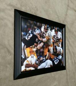 Steel Curtain Defense Pittsburgh Steelers Framed 8x10 Photo Lambert Mean Joe