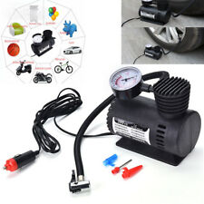 Air Compressor Pump 12V Mini Compact 300PSI Tyre Inflator Auto Portable Car Bike