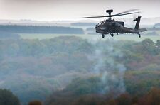 BRITISH ARMY APACHE HELICOPTER   A3   Photo Print