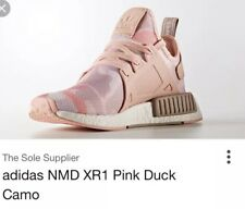 Women's Adidas Nmd XR1. Pink camo fabric, size 6. Worn once!