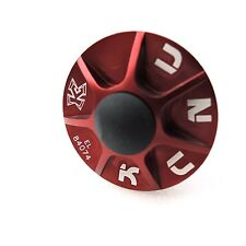 "KCNC AL7075 1-1/8"" Mountain Road Bike Bicycle Cycling Headset Cap Kit - Red"