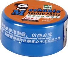 Stagno Liquido MECHANIC V8B45 pasta saldante Sn42/Bi58 BGA cpu138 °C 20 GRAMMI
