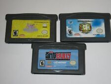 Nintendo Game Boy Advance GBA Lot of 3 Movie Based Games