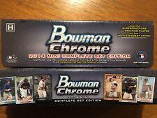 2014 BOWMAN CHROME MINI BASEBALL FACTORY HOBBY SET - KRIS BRYANT