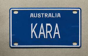 KARA Novelty Mini Number Plate