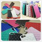 Free shipping Sheepskin Luxury Leather Metal Plastic Phone Case For Iphone 5G/5S