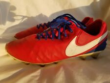 NIKE ID TIEMPO LEGEND VI AG SOCCER SHOES CLEATS FOOTBALL BOOTS 9.5 US ,8.5 UK