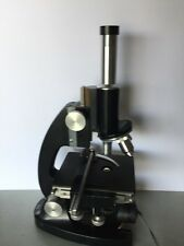 Bausch and Lomb Optical Compound Monocular Zoom Lab Microscope 3 Objectives