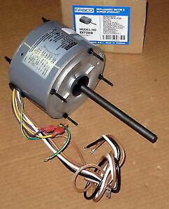 Fasco D7909 AC Air Conditioner Condenser Fan Motor 1/4 HP 1075 RPM 230 Volts