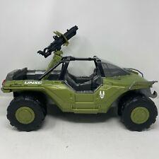 """Halo Warthog Vehicle w Gun 2016 Mattel Large 20"""" NICE! UNSC Master Chief M12"""