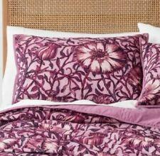 Opalhouse Love in a Mist Velvet Sham King Size Purple Floral