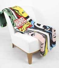 EXTRA LARGE - Marvel Avengers Comics Super Soft Fleece Blanket Kids Boys Throw