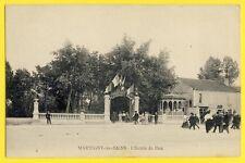 cpa Lorraine MARTIGNY les BAINS (Vosges) L'Entrée du PARC Hôtel Etablissement