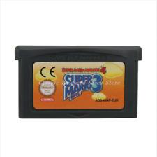 Nintendo GBA Video Game Console Card Cartridge Super Mario Advance 4