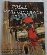M&W Gear Co. Total Performance Color Magazine Brochure Pistons Turbo 34/38