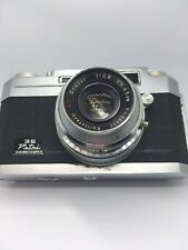 Petri 35 Color Corrected Super 2.8 w/ Kuribayashi A.C. Orikkor f4.5cm f/2.8 Lens