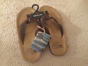 BNWT Mens Ripcurl Flip Flops Size 45