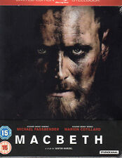 Macbeth - Limited Edition Steelbook (UK Import mit dt. Ton) Blu-ray