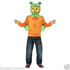 Smiffys Moshi Monsters Zip Top Scamp Orange Fancy Dress Party Halloween Costume Small
