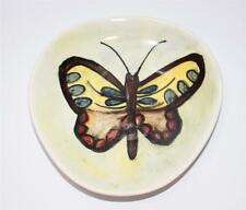Künstler Porzellan Tellerchen Teller, Motiv Schmetterling, signiert  #G757