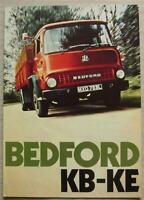 BEDFORD KB KC KD KE Commercial Vehicles Sales Brochure Sept 1972 #B1478/9/72