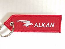 ALKAN Airborne Carriage System / Remove Before Flight Tag Keychain Military NEW
