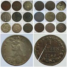 Monnaies Suisse Région avant 1850 Helvetia Choisissez votre monnaie !