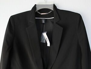 White House Black Market Women's Longline Blazer Jacket Size 4, 6, 8, 10
