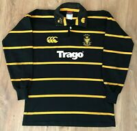 Cornwall rare vintage canterbury long sleeve rugby shirt size M