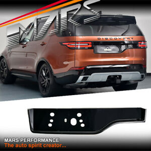Black Tail Gate Number plate Base Holder for LAND ROVER DISCOVERY 5 L462 2017-20