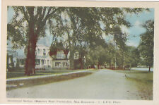 FREDERICTON, New Brunswick, Canada, 10s-20s; Residential Section, Waterloo Row