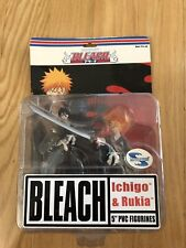 Bleach Toynami Series 1 Action Figure Ichigo Kurosaki And Rukia NEW In Box