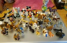 plastic toy figurines Disney and Lots of canines Lot of 40
