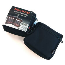 Winchester Lot Of 2 Choke Tube Accessory Case Bags With Vials Black 98120