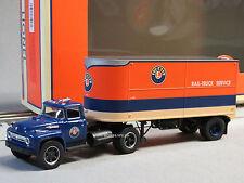 LIONEL LINES SEMI-TRACTOR 20' PIGGYBACK TRAILER o gauge train truck 6-81903 NEW
