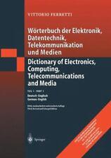Wörterbuch der Elektronik, Datenverarbeitung, Telekommunikation und Medien/warterbuc...