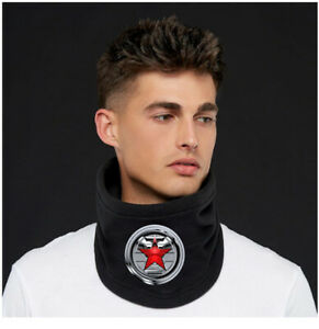 Winter Soldier Neck Warmer Cosplay Face Mask Scarf Christmas Gift New