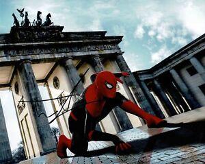 Tom Holland Signed 10X8 Photo Spider-Man Genuine Signature AFTAL COA (7501)